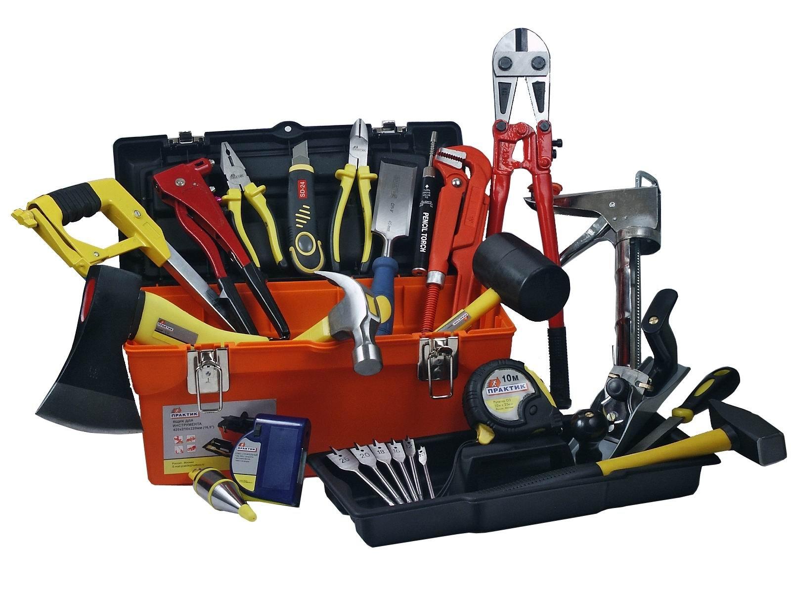 Инструменты для возведения дверей для гаража