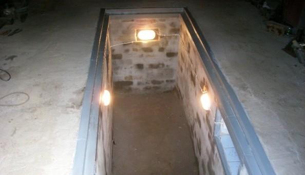 освещение смотровой ямы