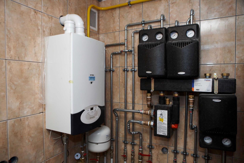 Универсальный котел для отопления работает на разном виде топлива