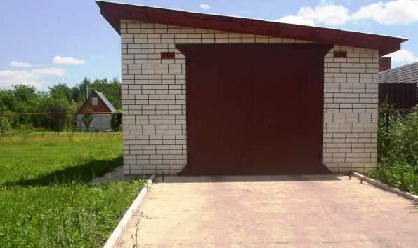 земельные участки под гараж