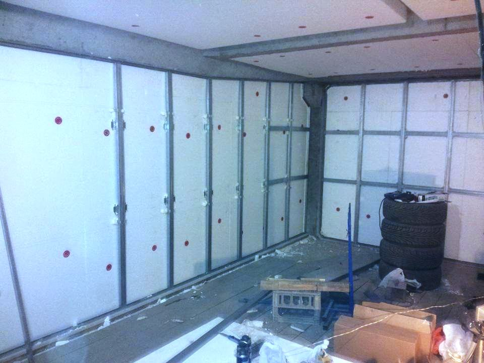 обшивка стен гаража вагонкой