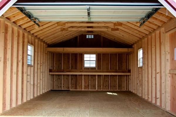каркасные гаражи