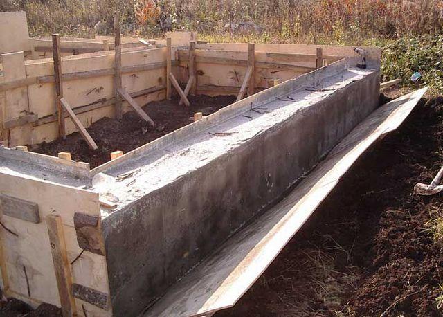 Демонтаж опалубки выполняется строго после полного застывания бетона