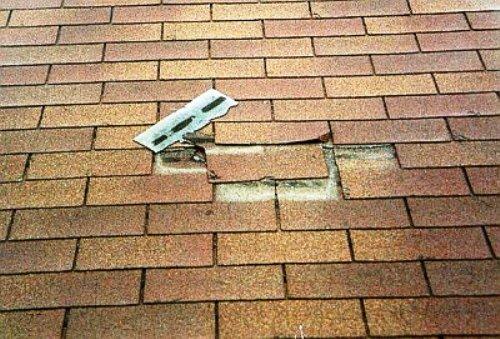как заделать крышу гаража