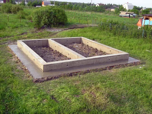 Мелкозаглубленная основа подходит не под каждый тип постройки