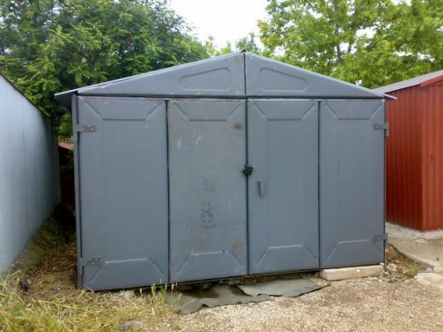 Доступный и дешевый вариант гаража