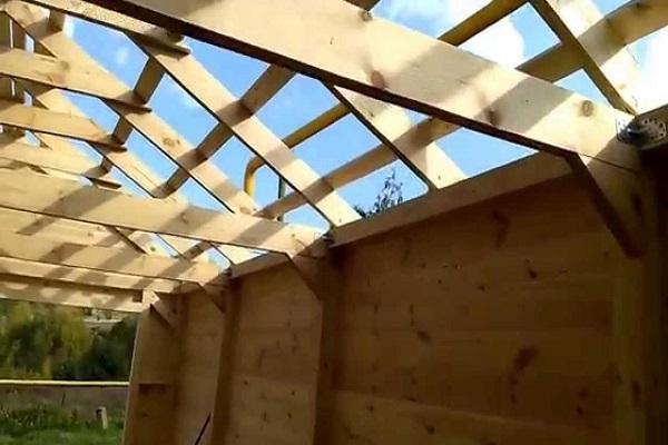 перекрытие для крыши