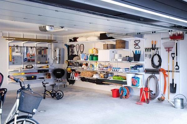 чистый гараж