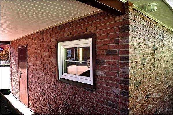 окно в гараже
