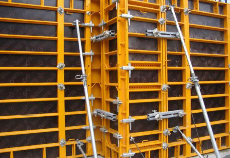 Стеновые щиты помогут залить бетонные стены