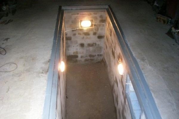 внутри ямы