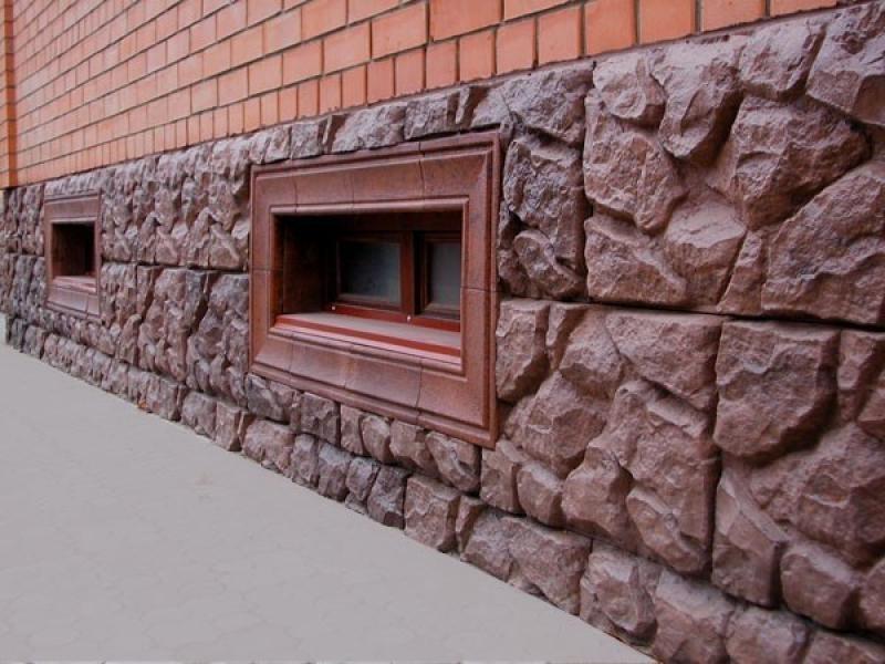 Полимернопесчанная плитка имитирует натуральный камень