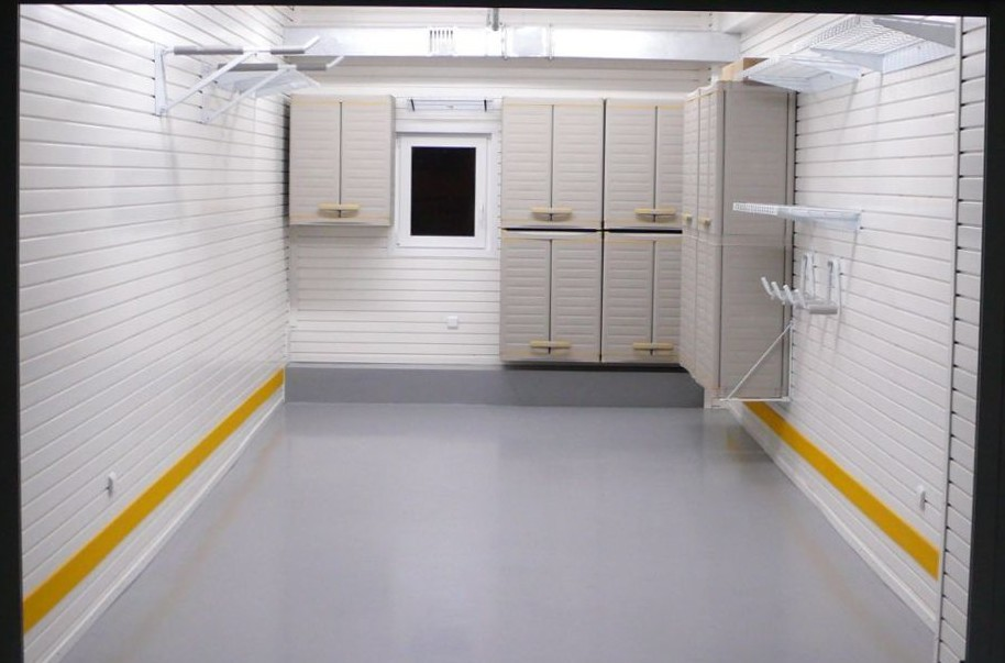Современный дизайн стильного и функционального гаража