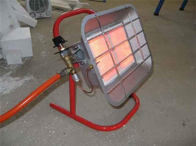 Электропушка для обогрева помещения гаража