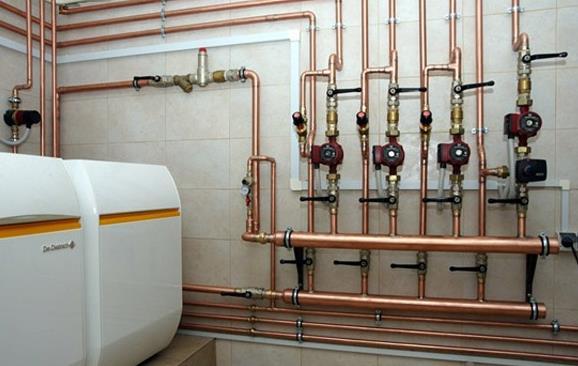 Паровая установка для системы отопления