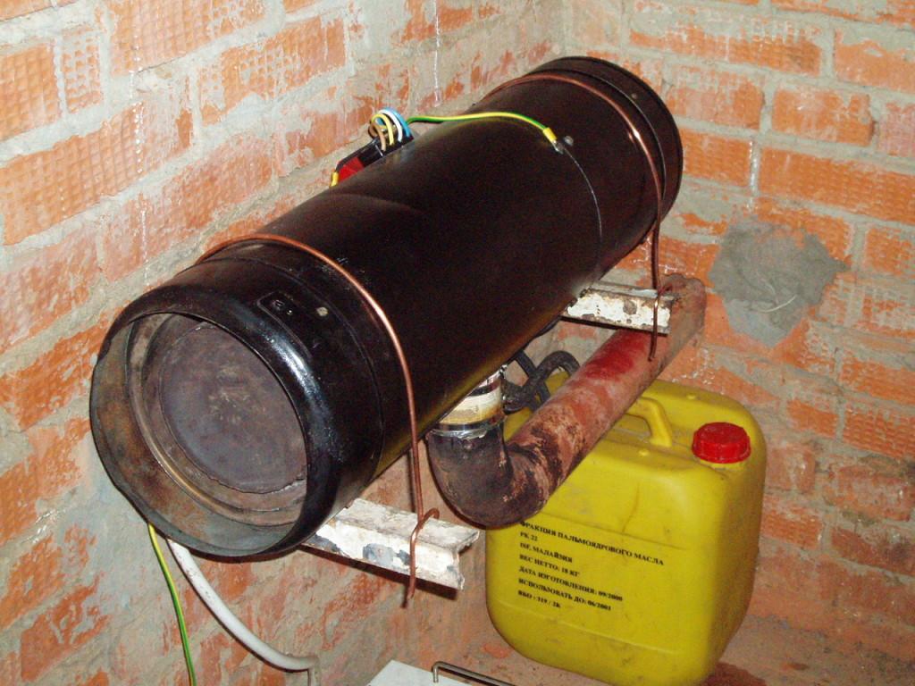 Самодельную печь легко сделать из газового баллона