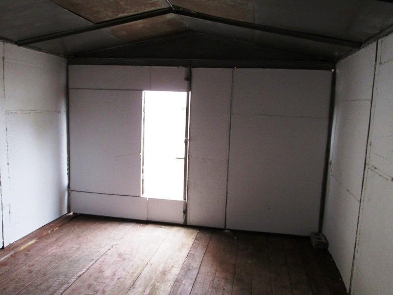 гараж из пенопласта
