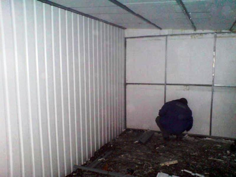 утепление каркасного гаража пенопластом