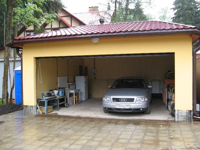 О собственном гараже мечтает каждый водитель
