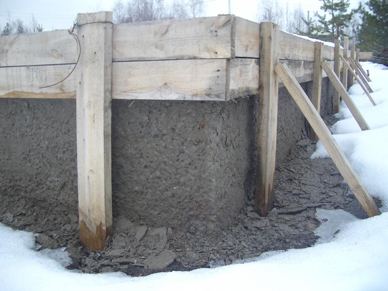 Фундамент без проблем застынет даже в сильный холод