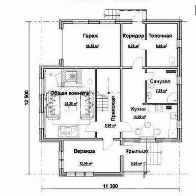 построить дом с гаражом