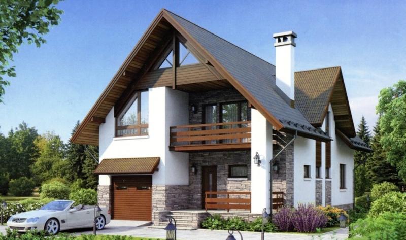 Каркасное строительство позволяет получить готовый дом в очень сжатые сроки