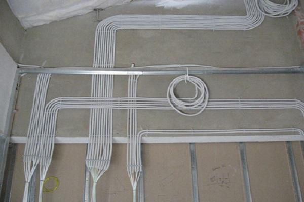 раскладка проводов