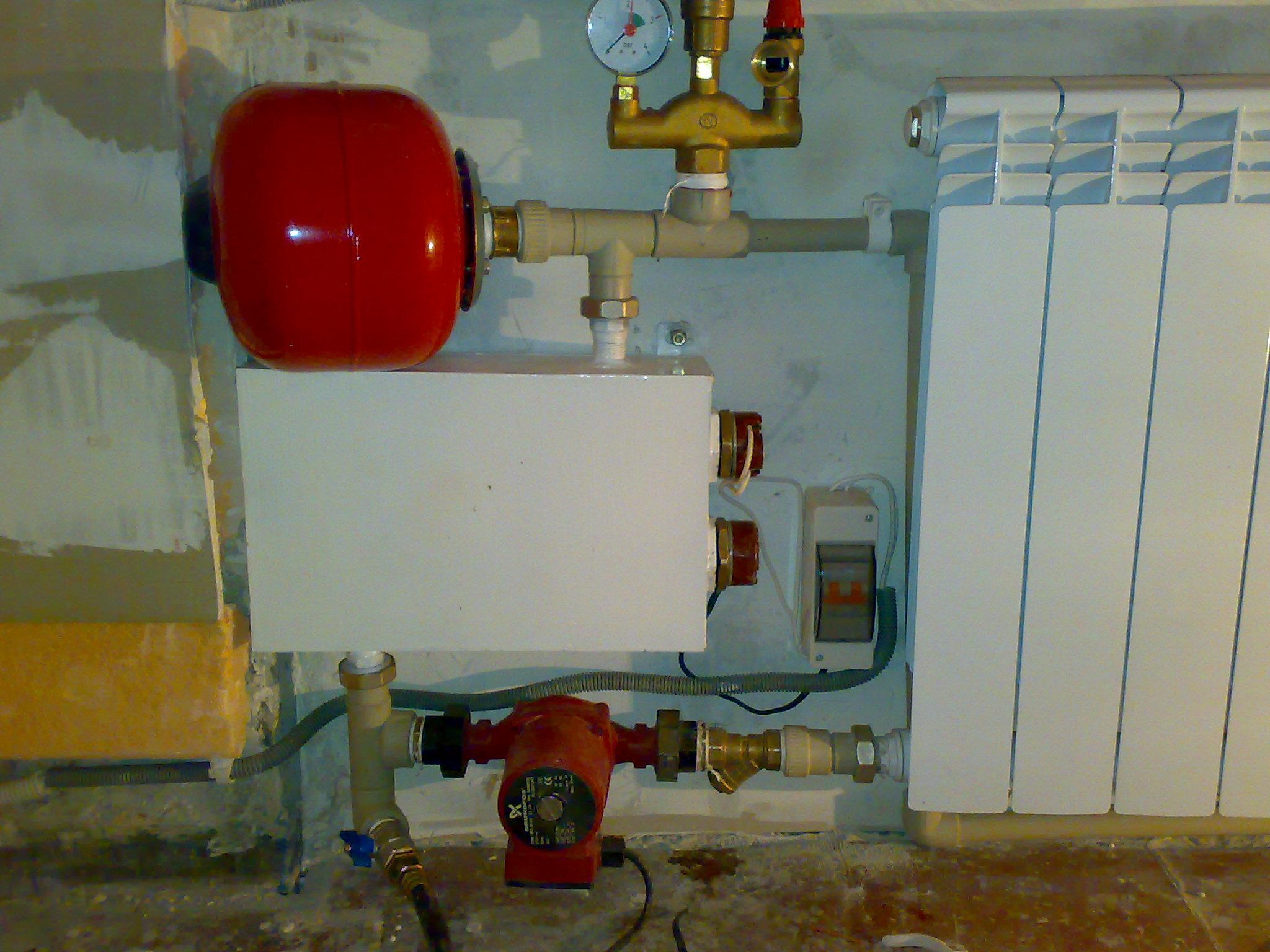Система электроотопления для собственного гаража