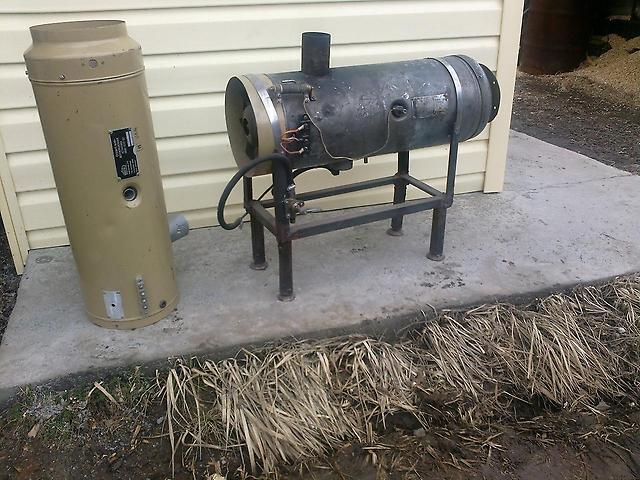 Дизельная печь выгодна и экономна для обогрева гаража
