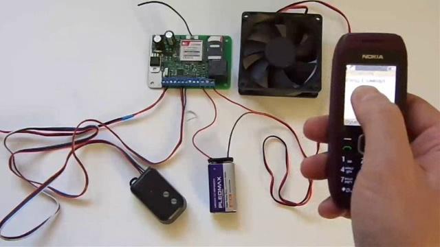 Самодельная сигнализация на базе мобильного телефона