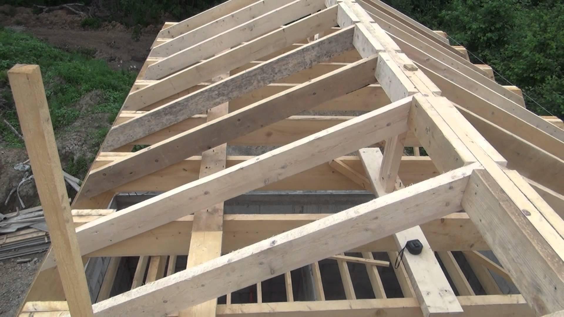 От крепости каркаса зависит долговечность и надежность крыши