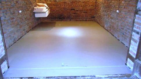 бетонная стяжка для наливного пола