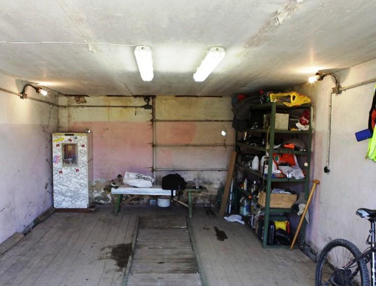 как провести свет в гараж