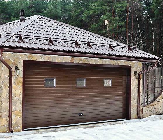 теплый гараж на даче