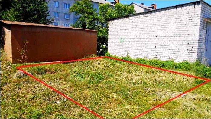 земельные участки под строительство гаража