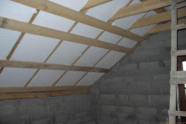 крыша деревянная