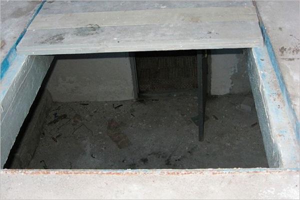 погреб гаража