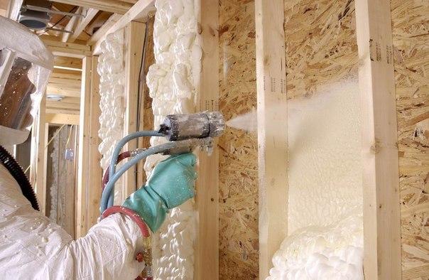 Заливка жидким пеностиролом для утепления гаражных стен