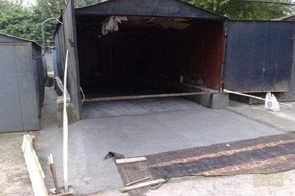 подъезд в гараж