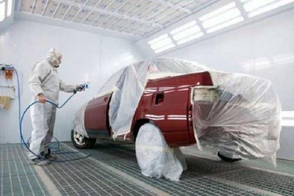 покраска машины