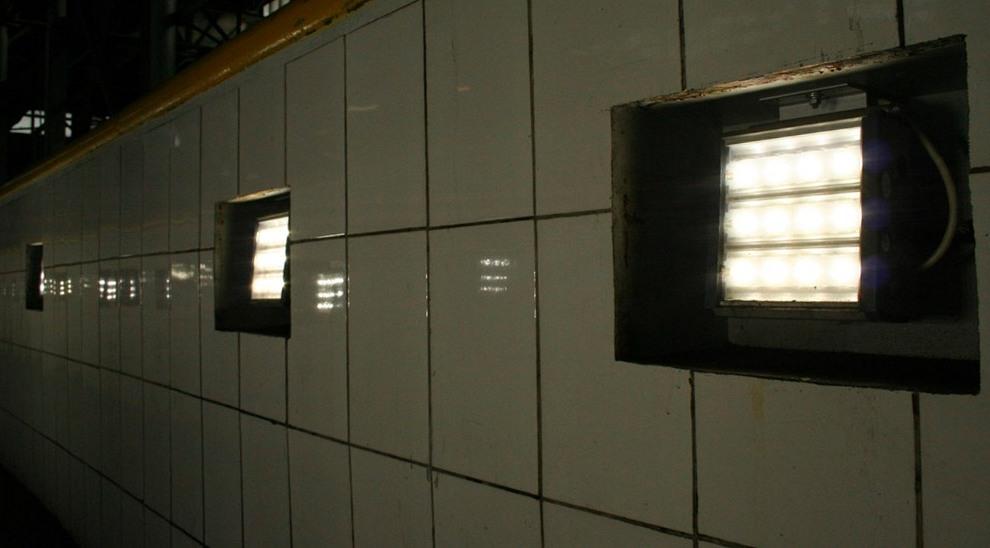 освещение в смотровой яме в гараже
